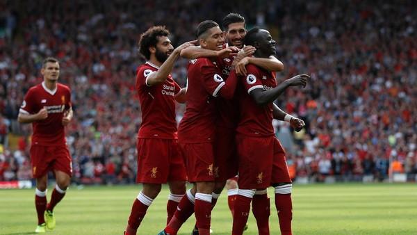 Liverpool Ungguli Arsenal 2-0 Saat Turun Minum