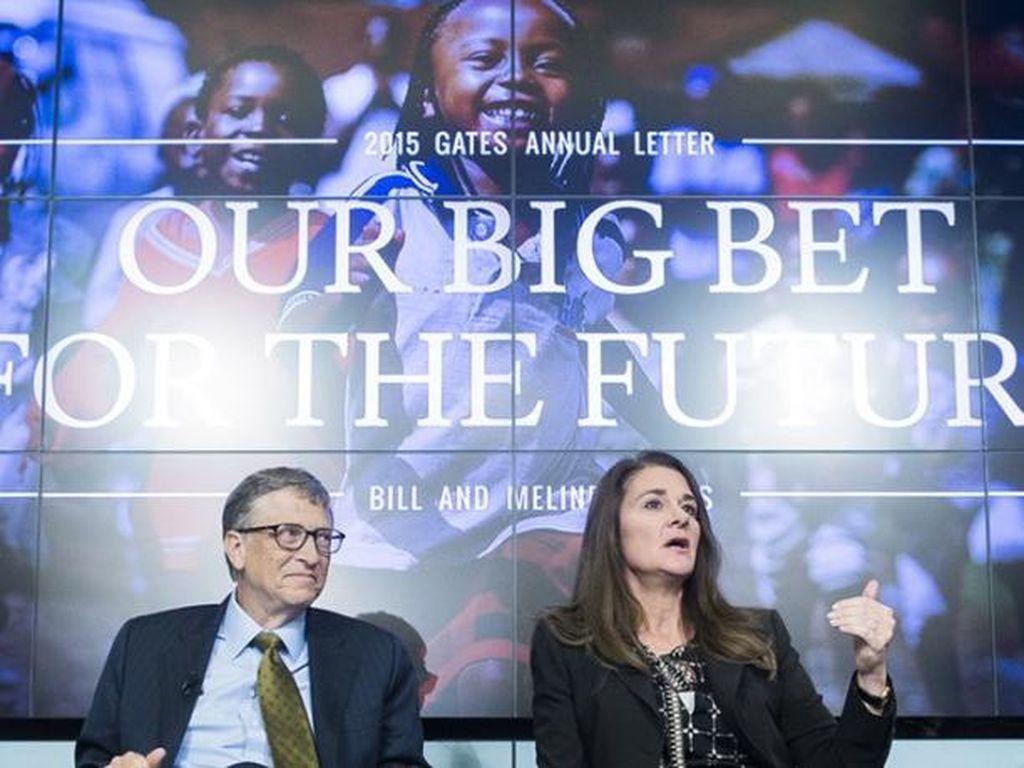 Transfer Harta ke Melinda, Bill Gates Turun ke Posisi 5 Terkaya Dunia