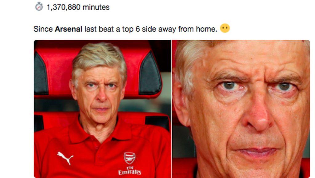 Sederet Meme Kocak Arsenal Dibantai Liverpool