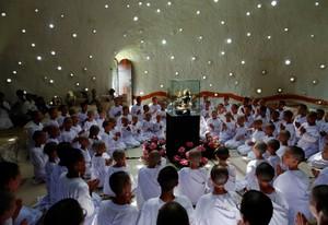Foto: Sekolah Biksu Cilik di Thailand
