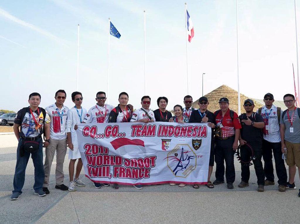 Tim Tembak Reaksi Indonesia Ramaikan Kejuaraan Dunia di Prancis