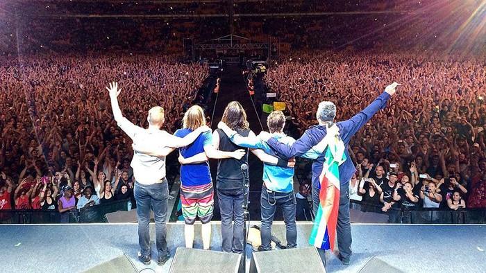Foo Fighters Menang Lagu Rock Terbaik di Grammy 2018
