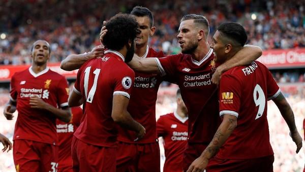 Liverpool Gasak Arsenal 4-0 di Anfield