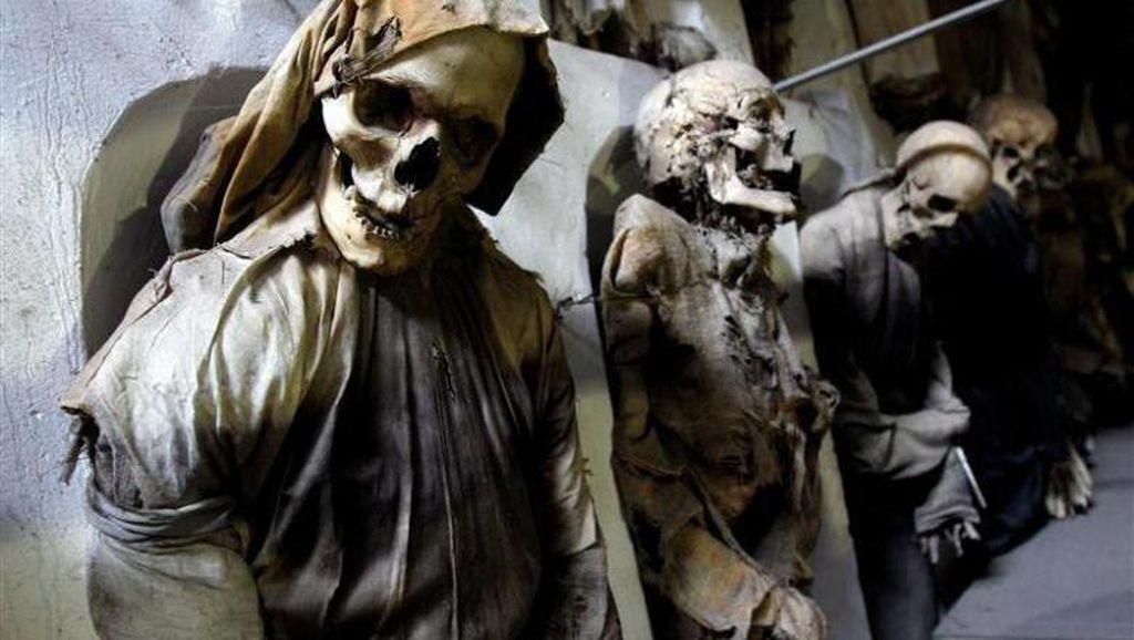 Penampakan 8.000 Mumi Italia