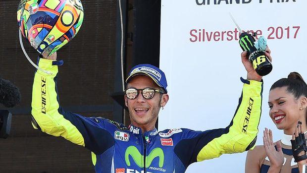 Valentino Rossi diharapkan sudah bisa kembali membalap di GP Aragon. (