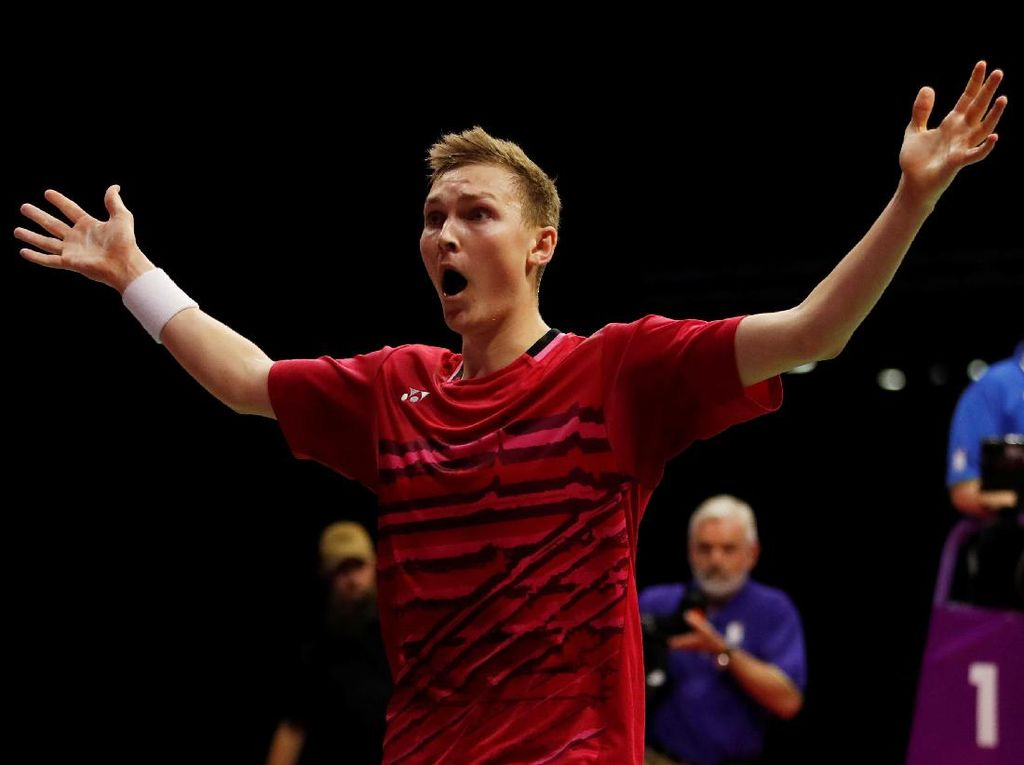 Axelsen Jadi Juara Dunia Usai Kalahkan Lin Dan