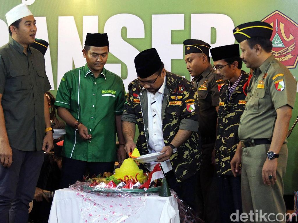 GP Ansor dan Banser Gelar Tasyakuran Kemerdekaan HUT RI