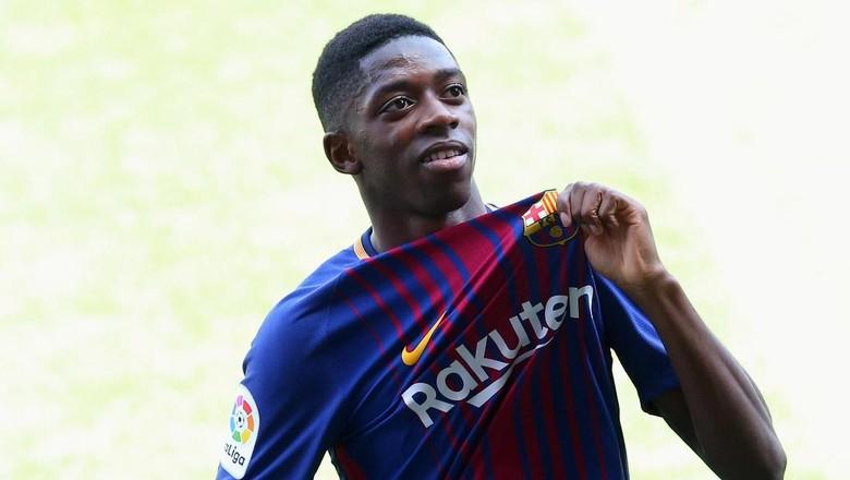 Ousmane Dembele Resmi Gabung Barcelona
