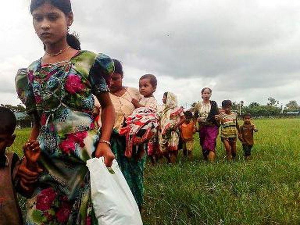 MUI Minta Pemerintah RI Desak Myanmar Hentikan Konflik Rohingya