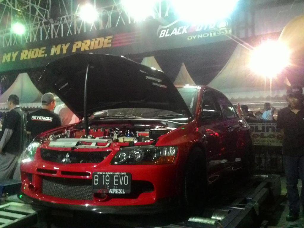 Mitsubishi Lancer Evo Ini Pecahkan Rekor di Dyno Test
