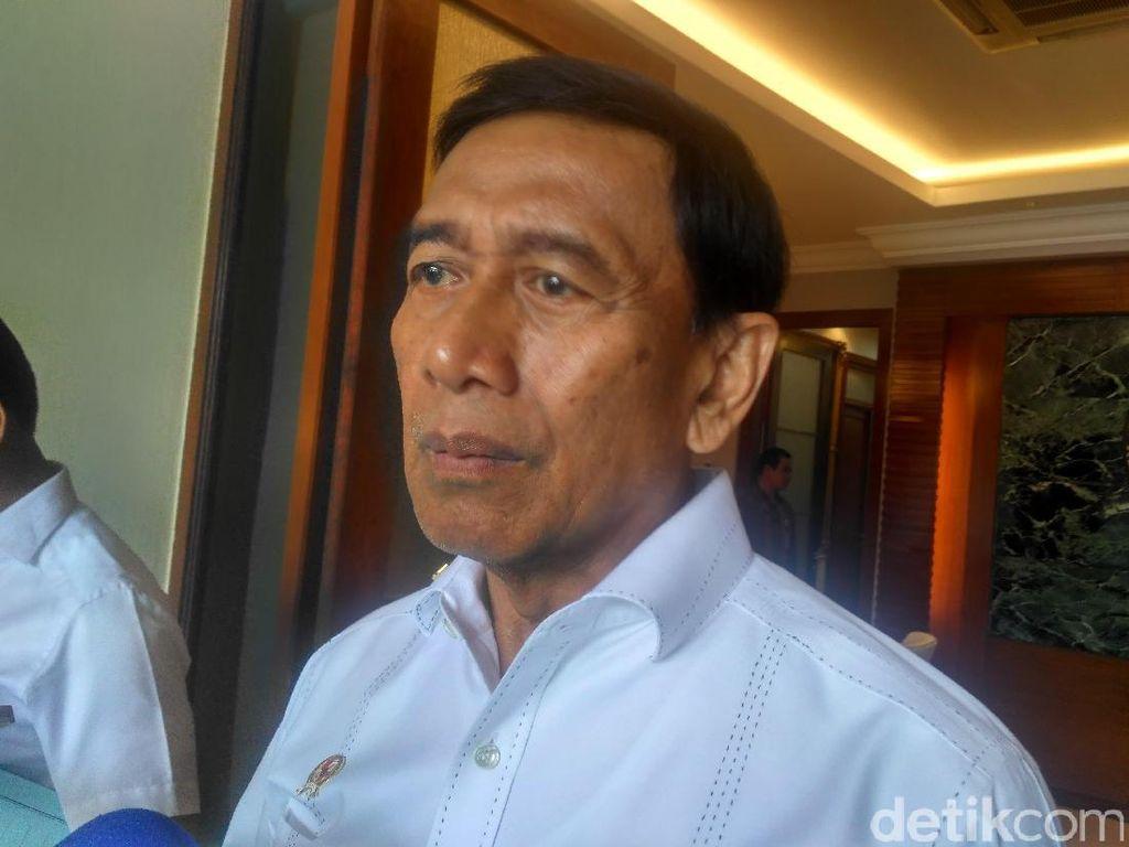 Isu Pembelian Senjata, Wiranto: Hanya Miskomunikasi Saja