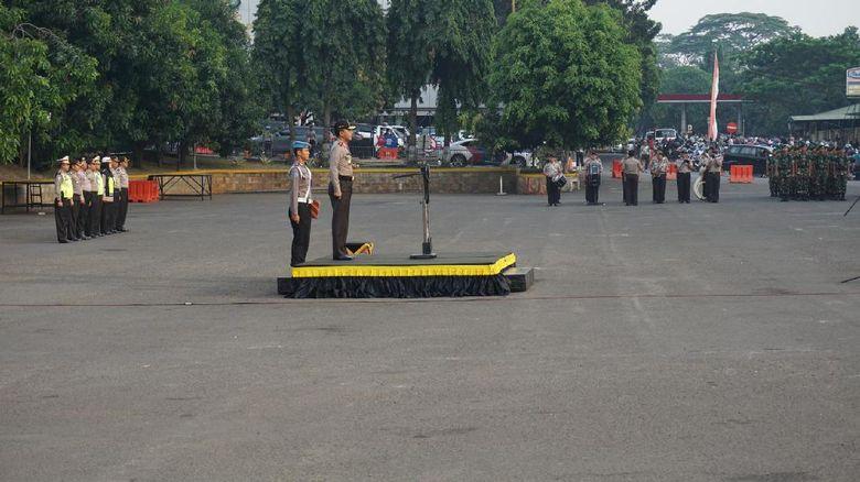 Kapolda Metro Jaya Pimpin Apel Pengamanan Idul Adha