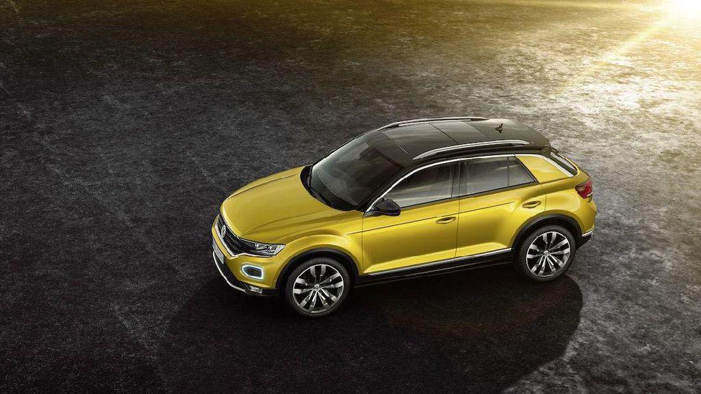 Foto: Volkswagen T-Roc Tantang Honda HR-V
