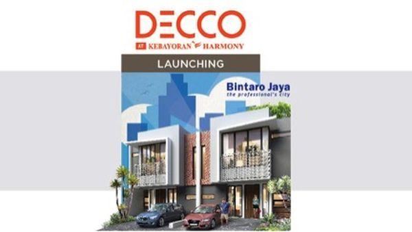 Bintaro Jaya Hadirkan Hunian Baru Decco di Kebayoran Harmony