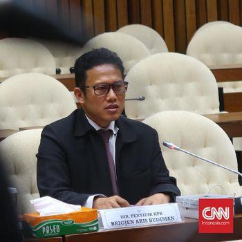 PimpinanKPKKantongi Hasil Pemeriksaan 'Pembangkangan' Aris