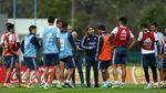 Hap! Wajah Messi Ditangkap Romero