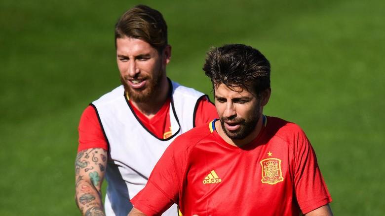 Ramos: Hubunganku dengan Pique Baik-baik Saja