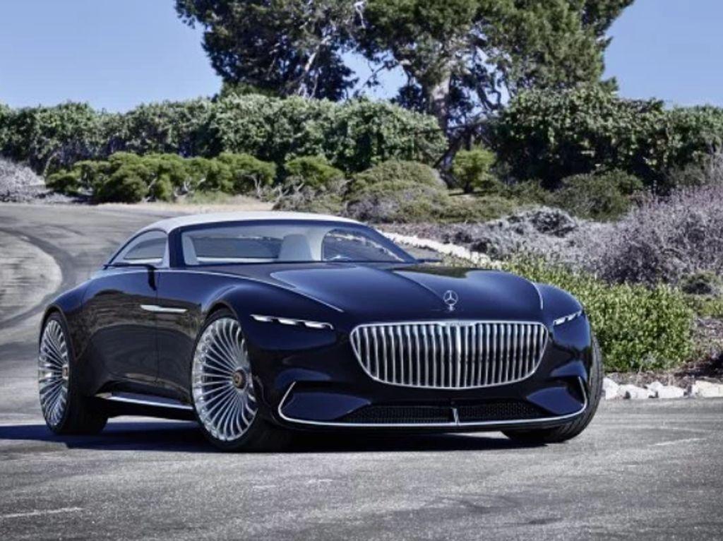 Cantiknya Mobil Para Bos Mercedes-Maybach 6 Tanpa Atap