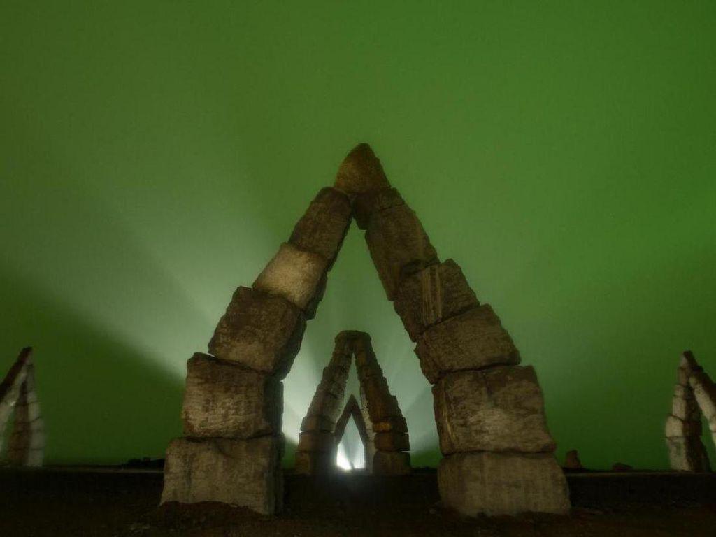 Foto: Monumen Aneh di Utara Bumi