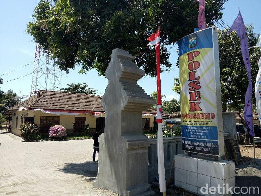 Jebol Dinding yang Rapuh, Tahanan Polsek Wongsorejo Berhasil Kabur