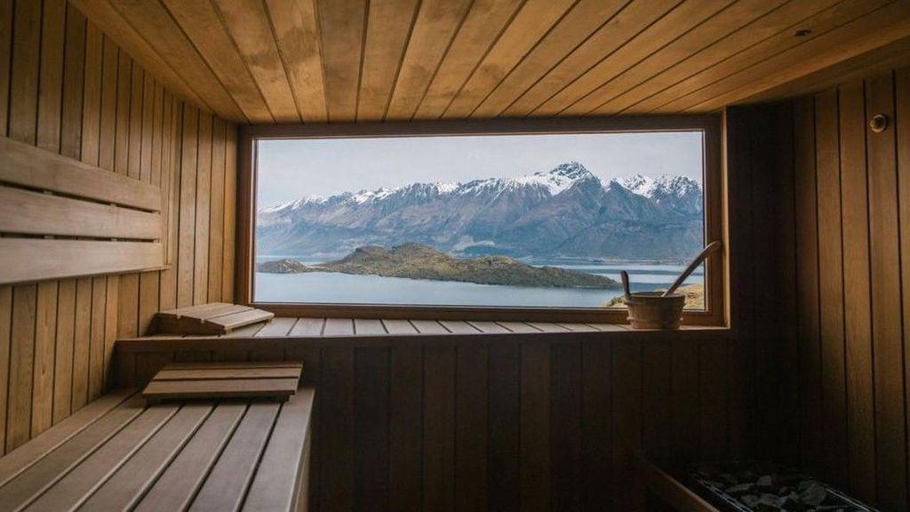 Sauna-sauna dengan Pemandangan Luar Biasa Indah