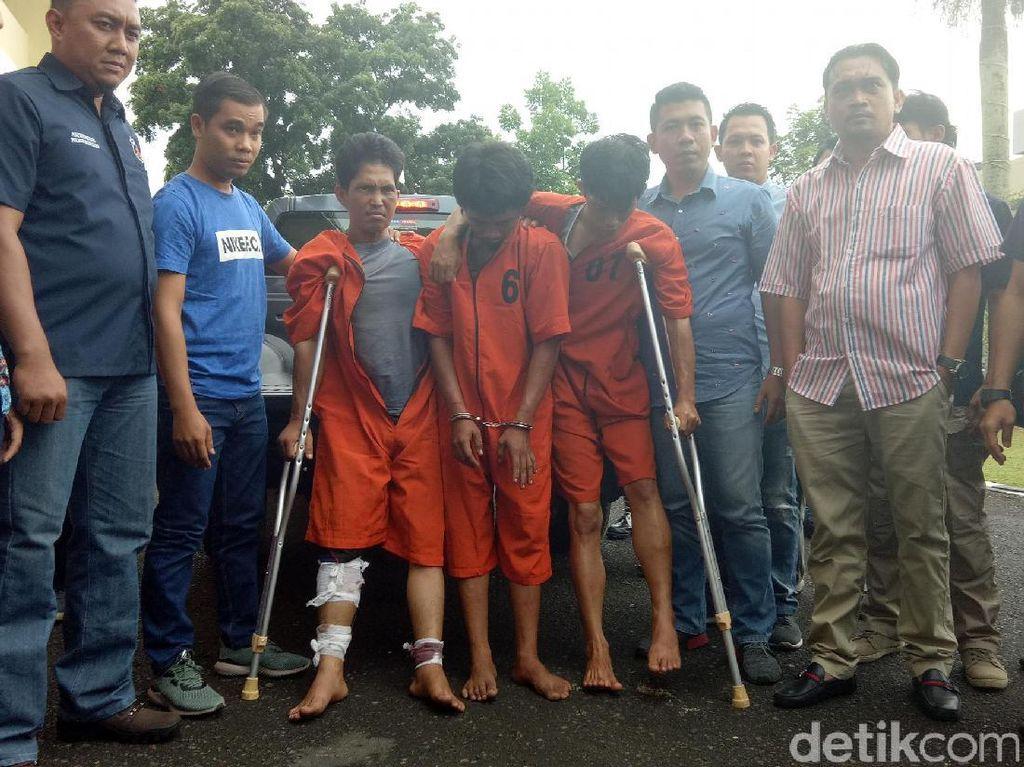 Jejak Trio Pembunuh Sopir Go-Car hingga Dipenjara Seumur Hidup