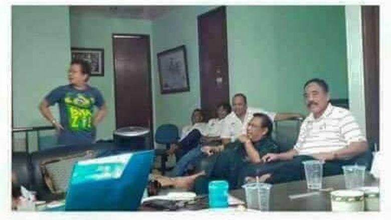 Viral Foto Rapat Saracen, Eggi: Itu Solidaritas Menangkan Prabowo