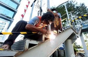 Tergusur Proyek Underpass, Halte TransJ Pondok Indah Dipindah