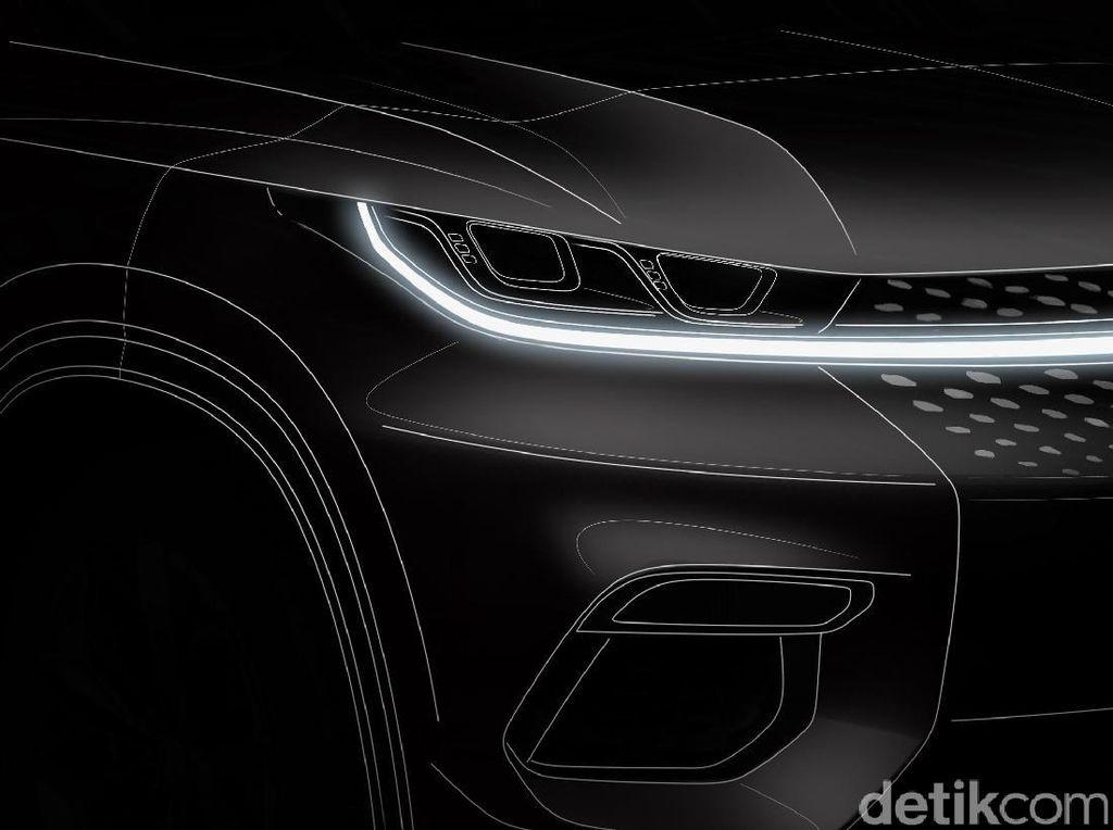 SUV Futuristik dari China