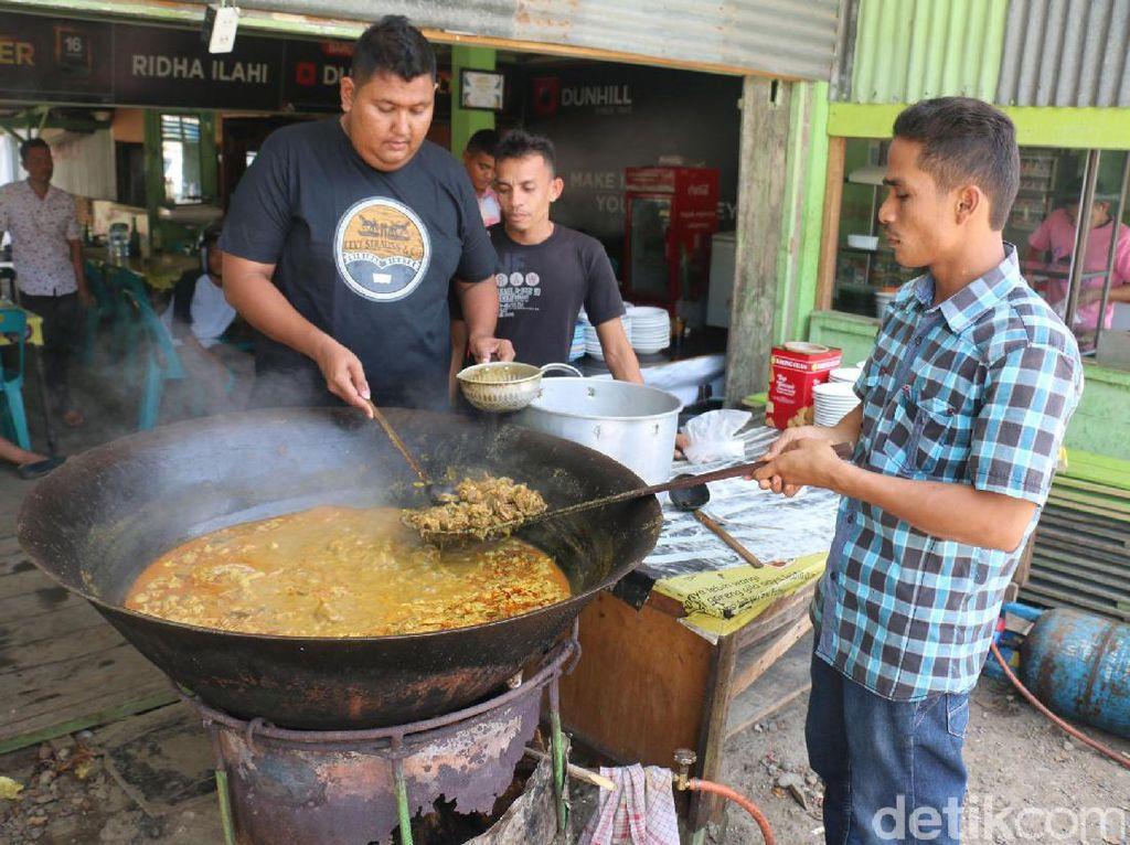 Ini Dia Rahasia Dibalik Racikan Sie Kameng Khas Aceh di RM. Ridha Ilahi