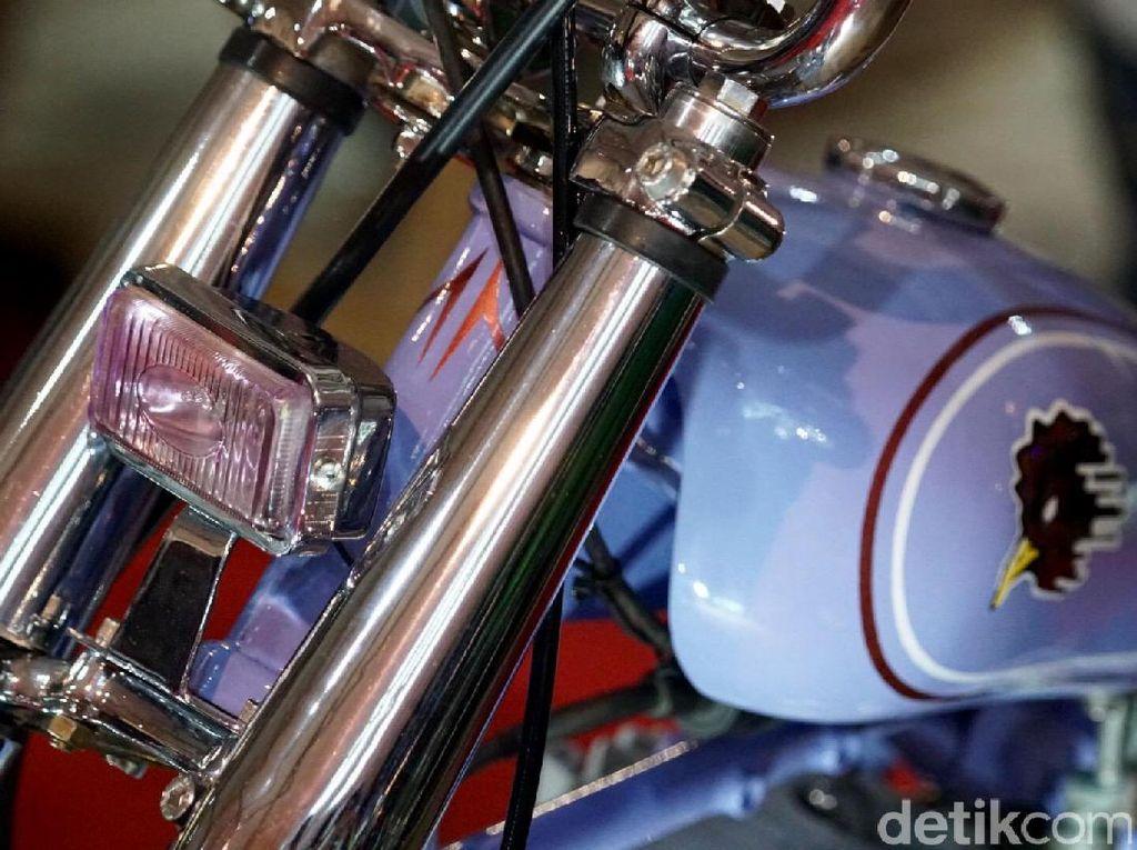 Melapisi Motor dengan Krom Nggak Mahal Kok, Nih Biayanya