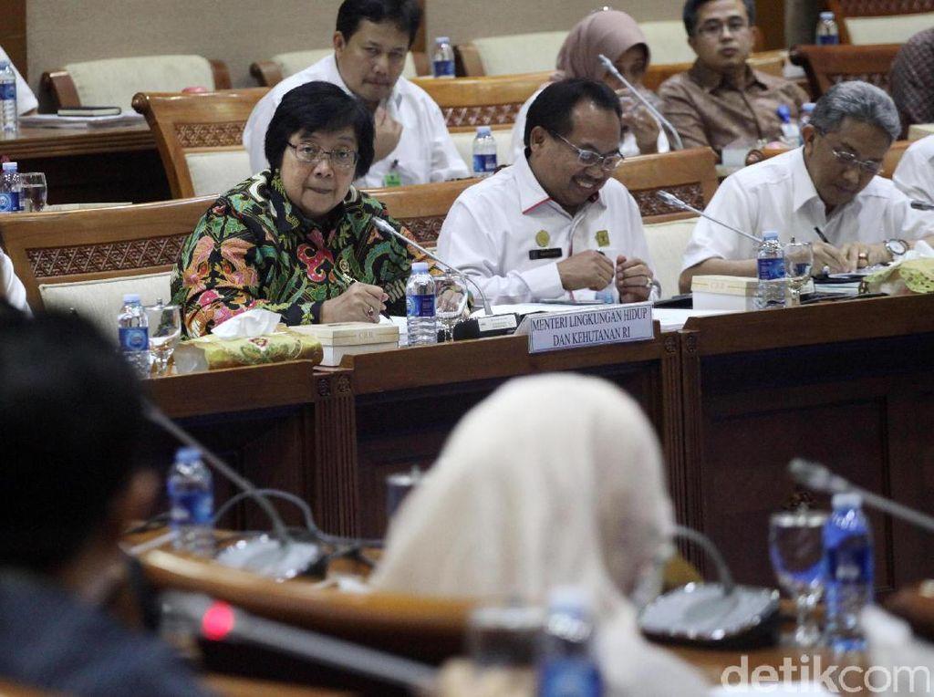DPR Rapat Tertutup Bareng KLHK, Ini yang Dibahas
