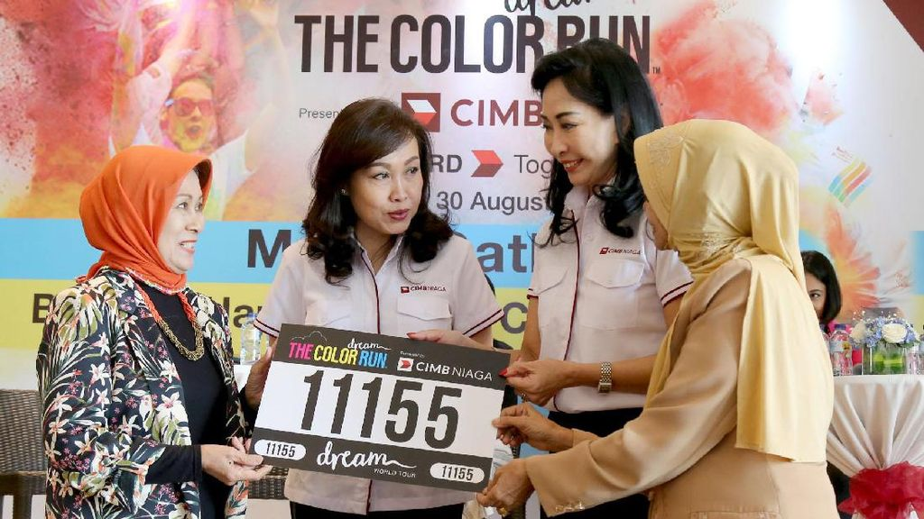 Festival Lari The Color Run Siap Digelar