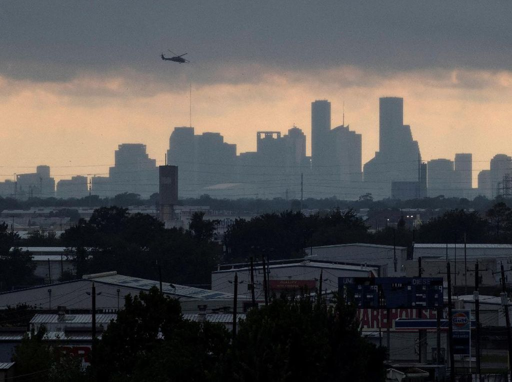 Sudah 17 Orang Tewas Akibat Badai Harvey di Texas