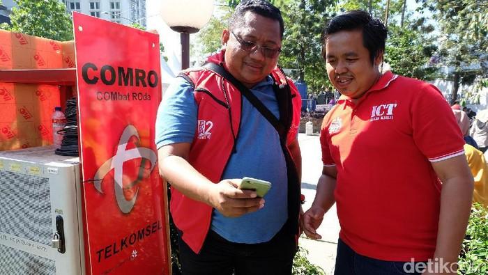 Telkomsel Kawal Lonjakan Trafik Data di Bandung