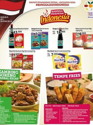 Promo Bangga Masakan Indonesia Unilever di Transmart Carrefour