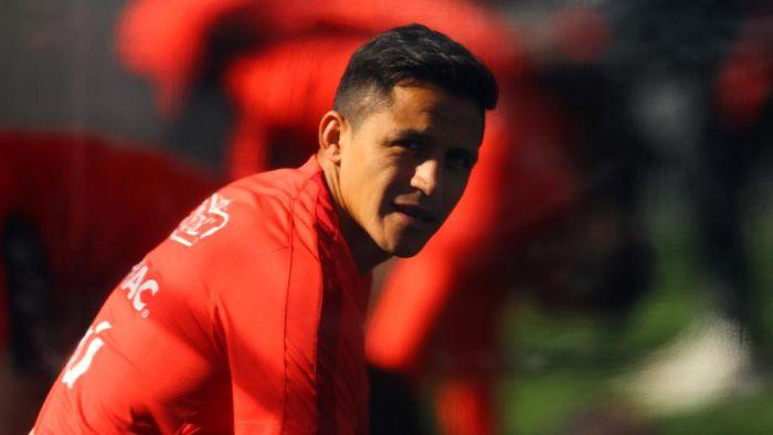 Situasi Alexis Sanchez di Arsenal tidak ideal. Foto: Ivan Alvarado/Reuters