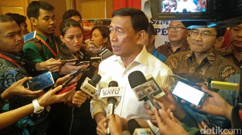 Pernyataan Lengkap Wiranto Soal G30SPKI dan Pembelian Senjata oleh BIN