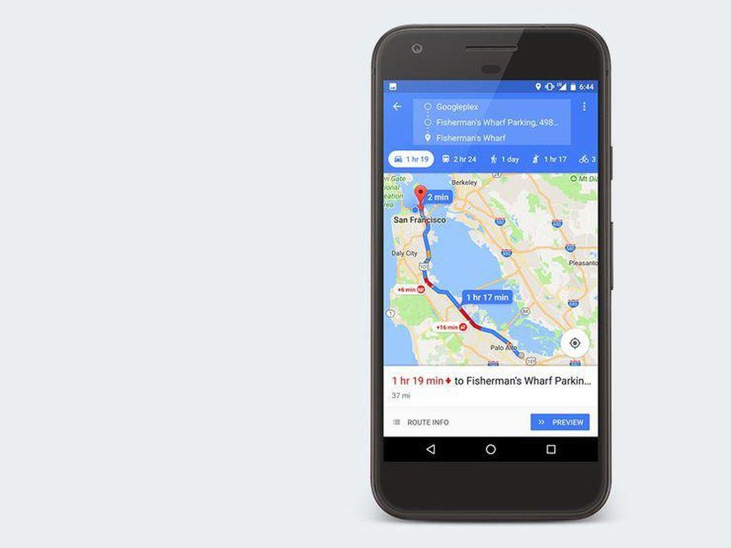 Google Maps Mudahkan Rute Pengguna Kursi Roda