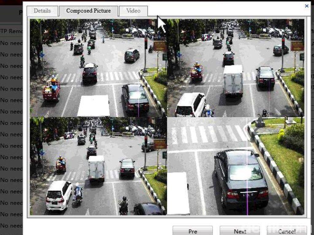 24 Jam, 417 Pelanggaran di Persimpangan Nginden Terekam CCTV