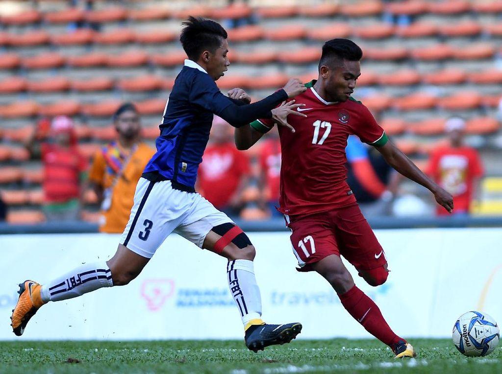 Turun Minum Indonesia vs Thailand, Saddil Ramdani Dikartu Merah