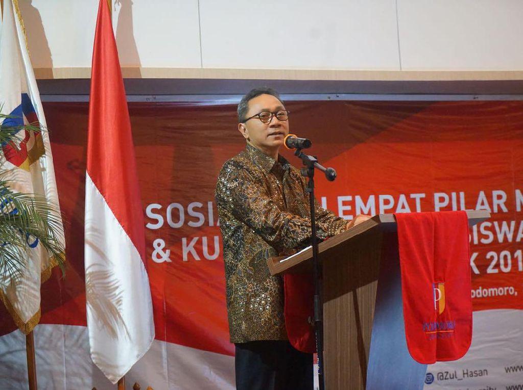 Ketua MPR: DPR Harus Prioritaskan Anggaran Aspirasi, Bukan ke LN