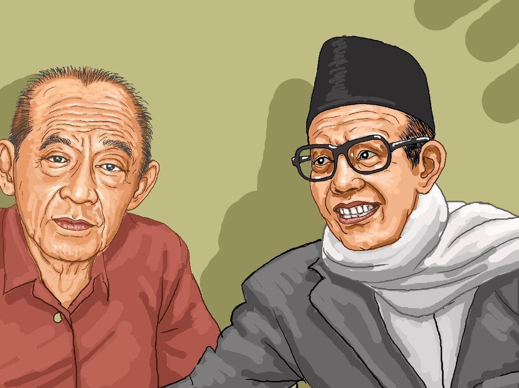 Bang Ali – M Natsir Berdamai Saat Berhaji