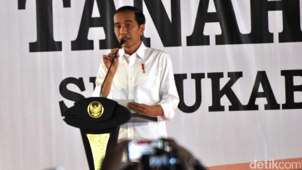 10.000 Warga Jabar Terima Sertifikat Tanah Gratis dari Jokowi
