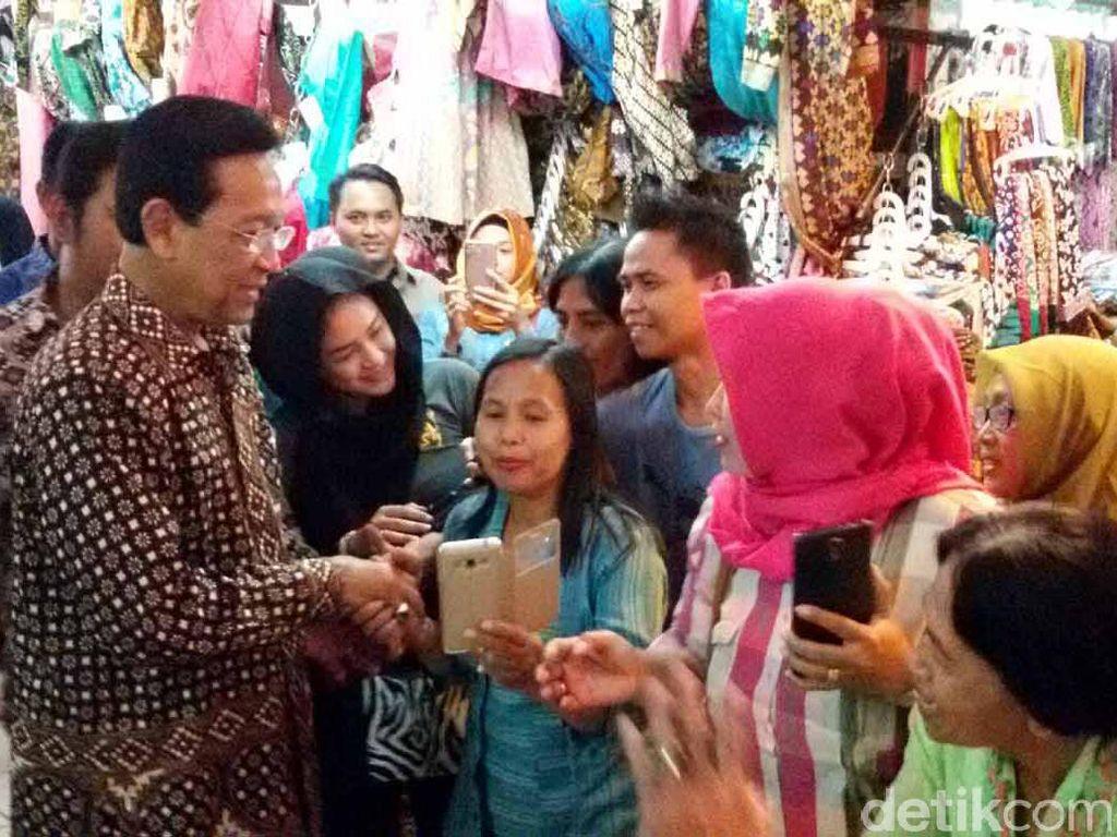 Sultan HB X Hadiri Kenduri Rakyat Istimewa di Pasar Beringharjo