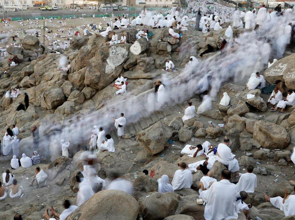 Jemaah Haji Mulai Wukuf di Arafah
