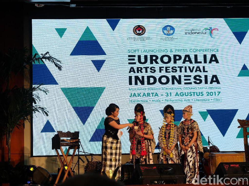Ratusan Seniman Meriahkan Festival Europalia 2017