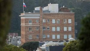 AS Perintahkan Rusia Menutup Konsulat dan 2 Kantornya