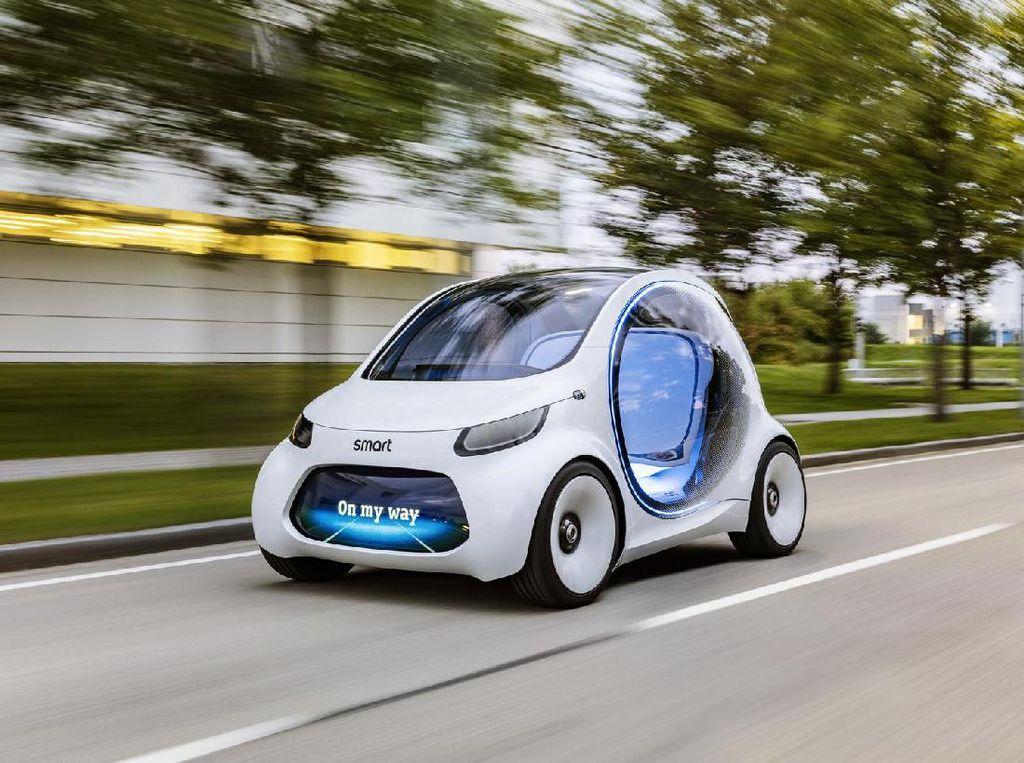 Makin Serius Asuh Mobil Smart, Daimler dan Geely Dirikan Perusahaan Baru