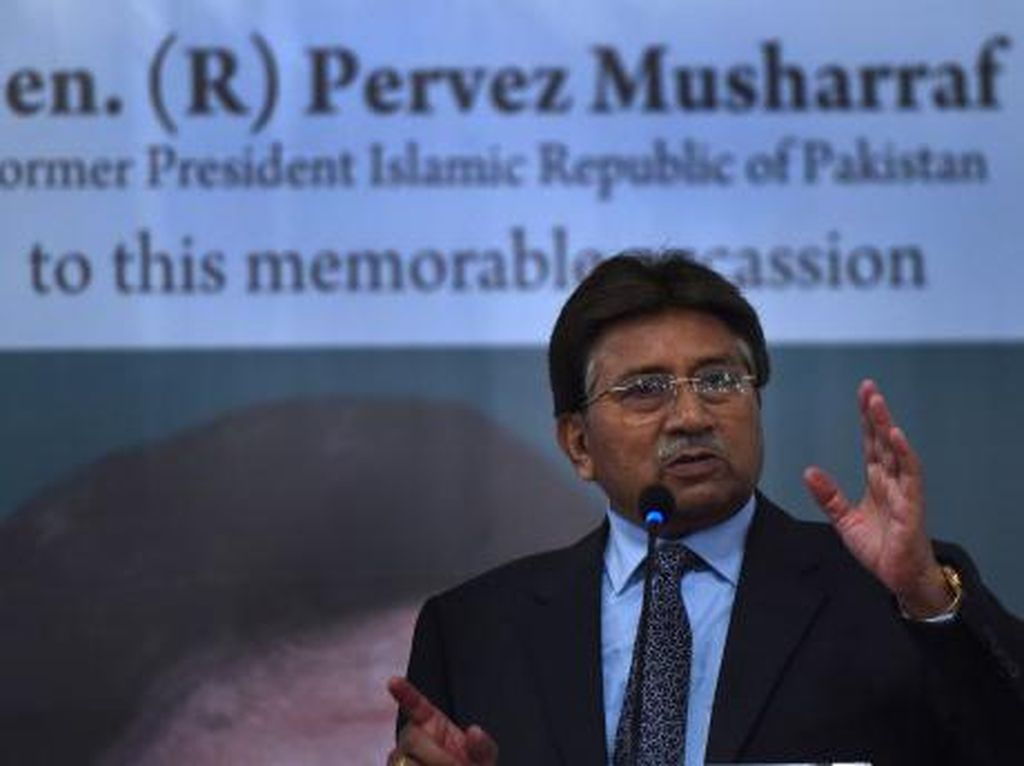 Mengejutkan! Mantan Presiden Pakistan Pervez Musharraf Divonis Mati